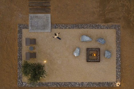 Anarchitect réalise l'Al Faya Lodge dans le désert de Sharjah (Émirats arabes unis)