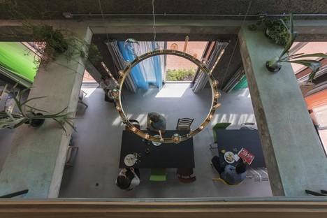Le cabinet Tato Architects signe l'hôtel Blend Inn à Osaka