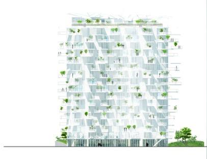L'Arbre Blanc de Sou Fujimoto, Nicolas Laisné et Oxo Architects a pris racine à Montpellier