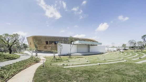 Le cabinet MAYU architects signe le Blossom Pavilion de la Taichung World Flora Exposition