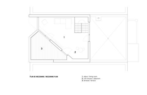 La Résidence Dessier de _naturehumaine : le duplex tout-en-un