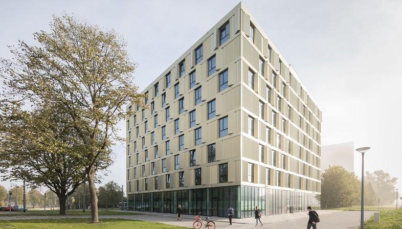 Mecanoo signe la nouvelle résidence étudiante de l'Université Érasme de Rotterdam