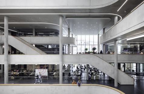 Henn Architects et Kinzo signent le nouveau siège de Zalando à Berlin