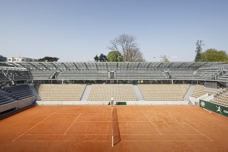Marc Mimram signe le nouveau court de tennis de Roland-Garros à Paris