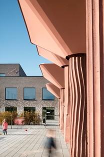 Le cabinet C.F. Møller réalise la nouvelle Tiundaskolan à Uppsala