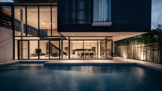 Les thaïlandais d'Anonym signent « BAAn », une luxueuse villa à Bangkok.