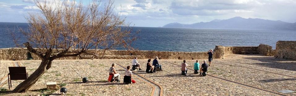 Le cabinet Moy Studio signe Water paths, la nouvelle place de Monemvasia