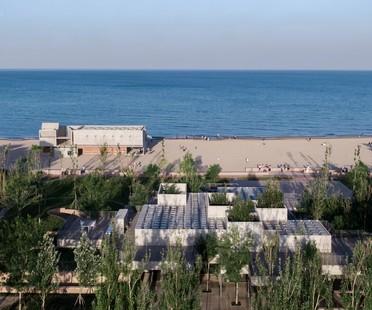 Vector Architects signe le Restaurant y Sea dans la station balnéaire de Beidaihe en Chine