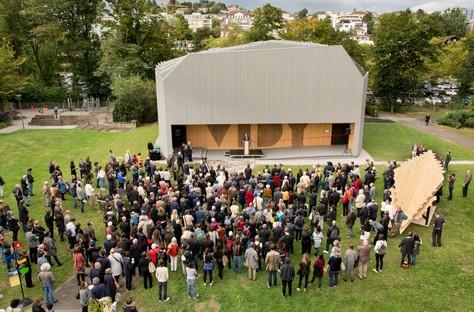 Yves Weinand signe le nouveau pavillon du théâtre Vidy-Lausanne