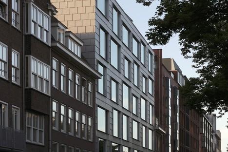 Wiel Arets Architect vient d'achever « The Double » à Amsterdam.