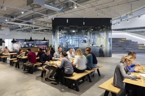 Le cabinet HENN Architects signe le Stryker Innovation Center à Fribourg-en-Brisgau