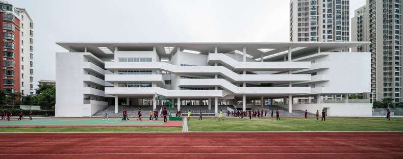 Trace Architecture Office signe la Huandao Middle School à Haikou