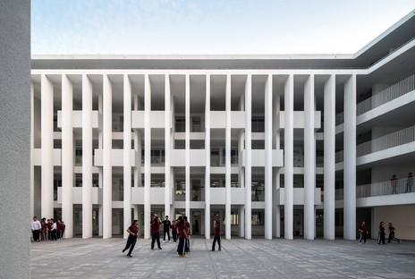 Trace Architecture Office signe la Huandao Middle School à Haikou