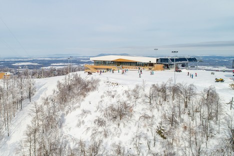 Lemay conçoit une vue à 360° pour le Chalet du Sommet de Bromont