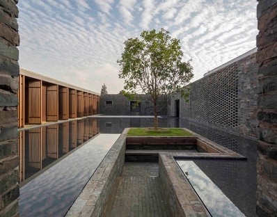 Le Tsingpu Yangzhou Retreat : le « mur de briques » signé Neri & Hu