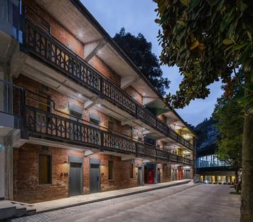3andwich Design / He Wei Studio signent la restructuration de l'Arsenal 809