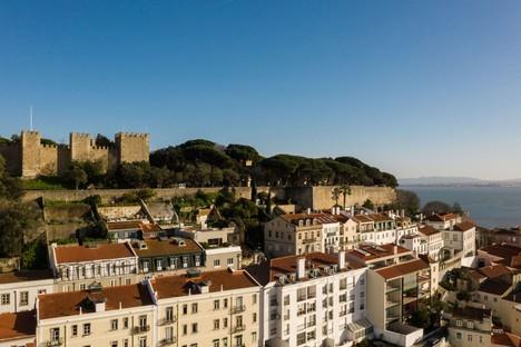 Bak Gordon signe la Maison de rua Costa do Castelo à Lisbonne