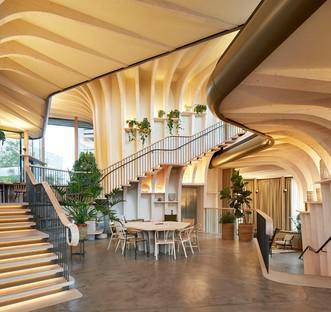 Heatherwick Studio a réalisé le nouveau Maggie's Centre à Leeds
