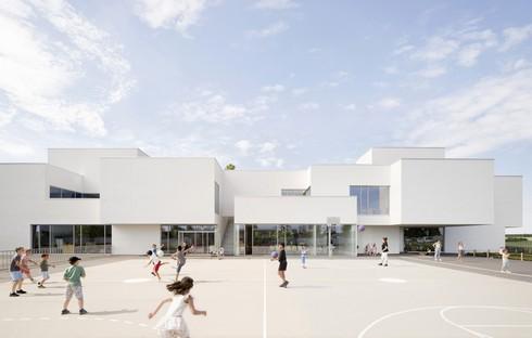 Dominique Coulon réalise l'école Olympe de Gouges à Gidy en France