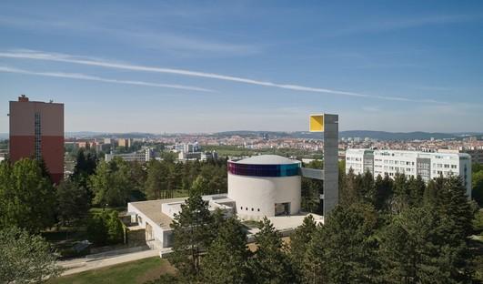 L'Atelier Štěpán édifie à Brno l'église de la Bienheureuse Marie Restitute