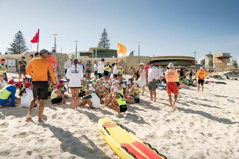 Hames Sharley réalise le Scarborough Beach Life Saving Club