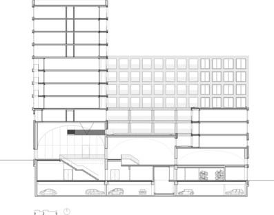 Le cabinet Studioninedots fait cohabiter sphère publique et privée dans son projet Westbeat à Amsterdam