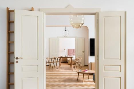 No Architects réalise un appartement à Dejvice (Prague)
