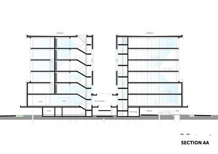 FC Ingenieure Campus : la « façade smartphone » de 3deluxe architecture