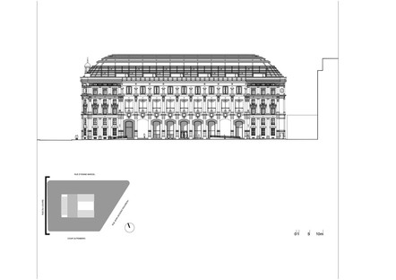Dominique Perrault signe la restauration et la transformation de la Poste du Louvre