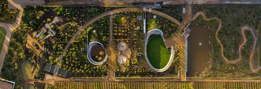 Le Garden Café : un projet réalisé pour Bosjes en Afrique du Sud par le cabinet Steyn Studio en collaboration avec SquareOne, Meyers et Liam Mooney
