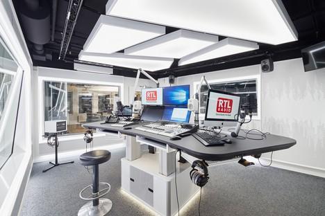 RTL a choisi le cabinet suisse Evolution Design pour la réalisation de son siège à Berlin.