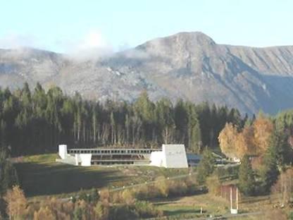 Sverre Fehn Centre Ivar Aasen, Orstad, Norvège, 2000