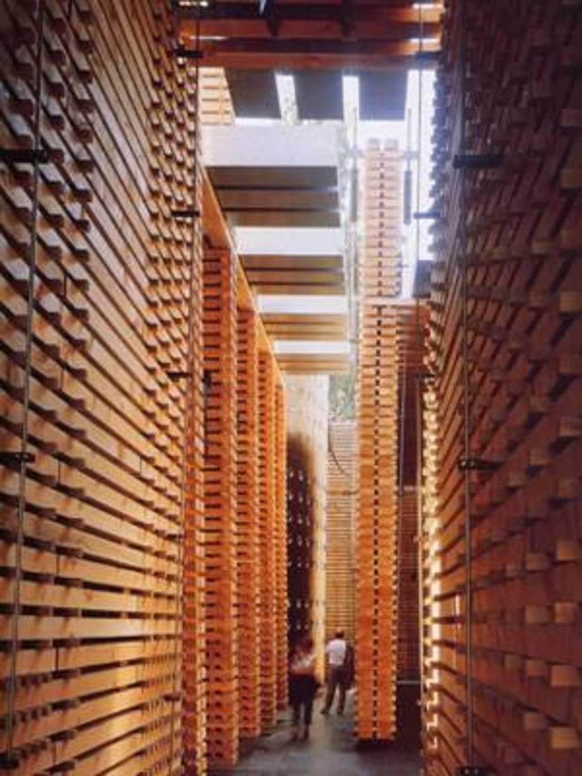 P Zumthor Pavillon Suisse a; l\'Expo 2000 de Hanovre | Floornature