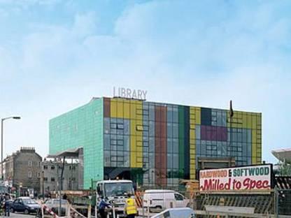 William Alsop: Peckham Library, Londres