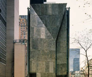 American Folk Art Museum, Tod Williams Billie Tsien & Associates, New York, États-Unis, 2001