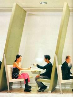 Diller et Scofidio, La Brasserie<br> New York, 2000