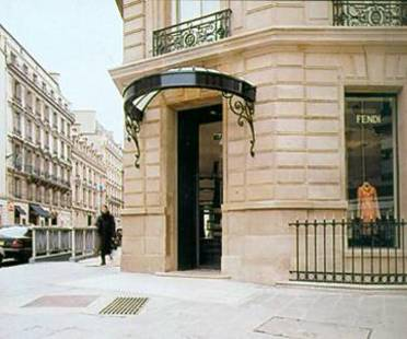 FENDI SHOP, Lazzarini & Pickering Architects,<br> Paris, France, 2001