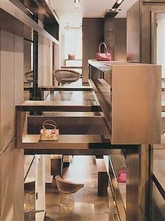 FENDI SHOP, Lazzarini & Pickering Architects,<br> Paris, France, 2001