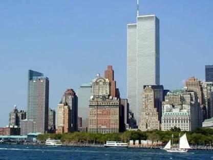 Les Tours Jumelles (Twin Towers) du World Trade Center à New York