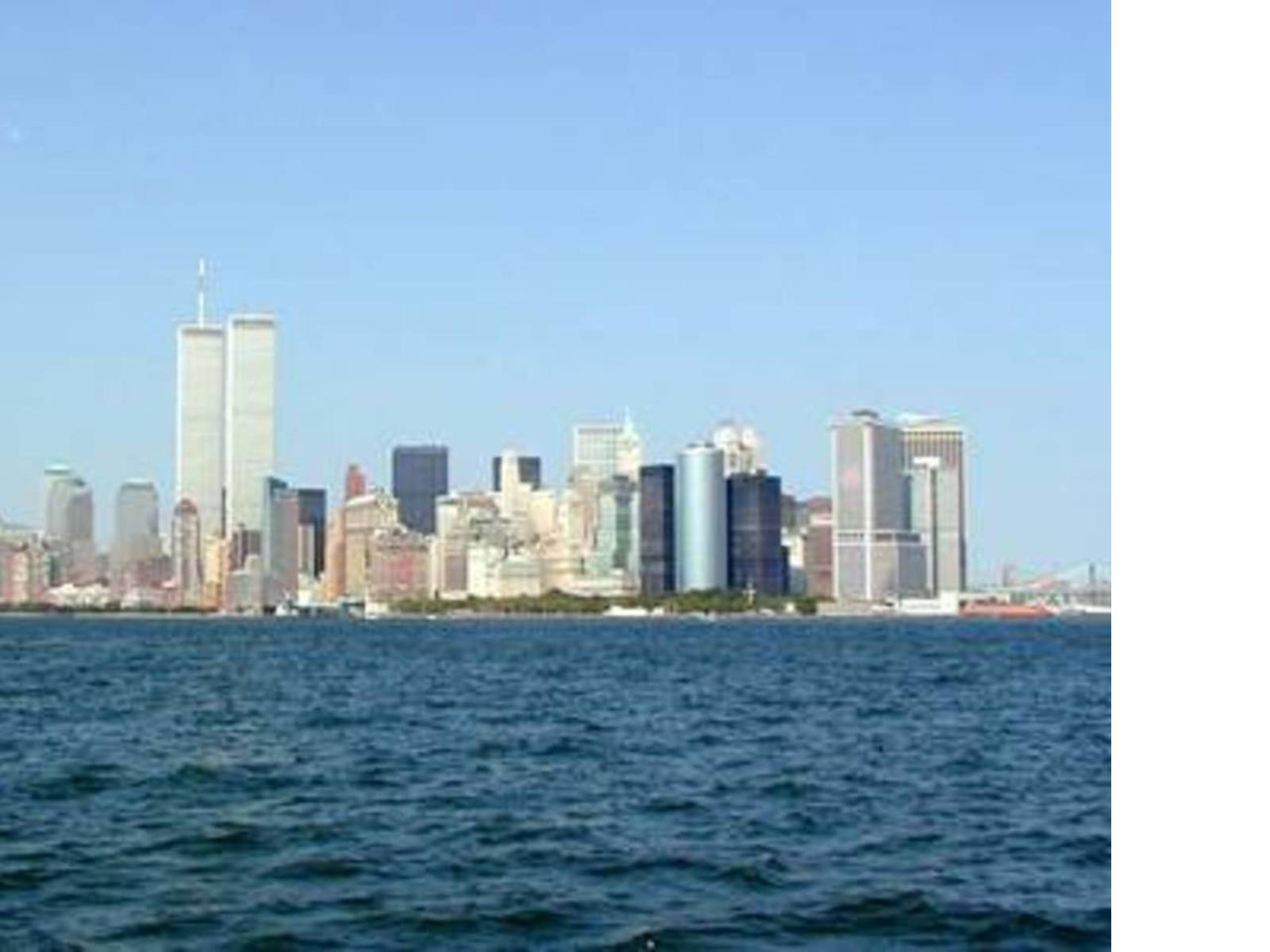 Les tours jumelles twin towers du world trade center a new york