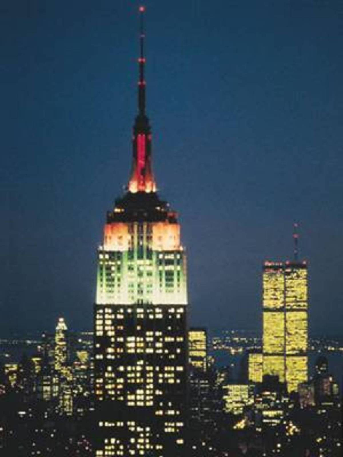 Les Tours Jumelles Twin Towers Du World Trade Center A