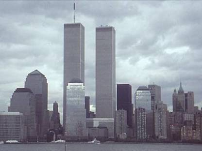 Les Tours Jumelles Twin Towers Du World Trade Center A