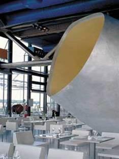 Dominique Jakob & Brendan MacFarlane<br> Restaurant Georges, Centre Georges Pompidou