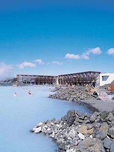 Vannustofa Arkitekta: Blue Lagoon, Grindavik, Islande, 1999