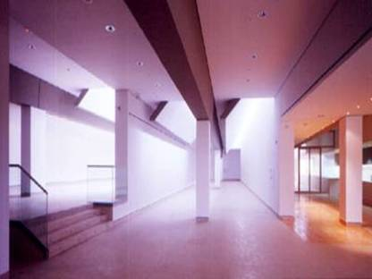J. N. Baldeweg: musée et centre d'études des grottes d'Altamira, 2000
