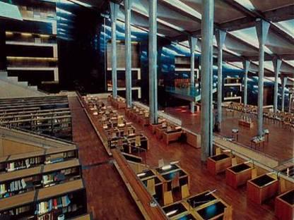 La bibliothèque d'Alexandrie en Egypte