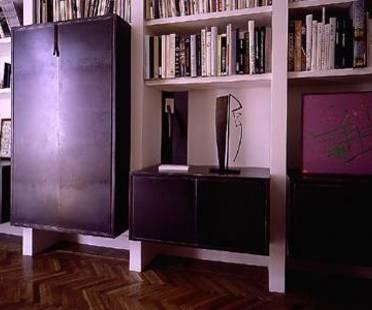 Carlo Lococo : maison avec artistes, Rome