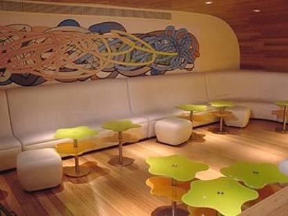Morimoto restaurant, Karim Rashid, Philadelphie, 2001