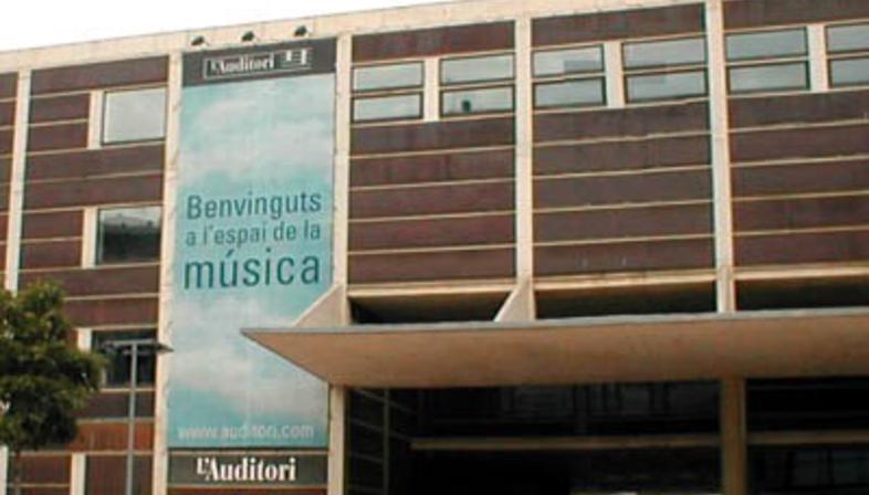 Rafael Moneo: Auditorium de Barcelone, 1988-1999