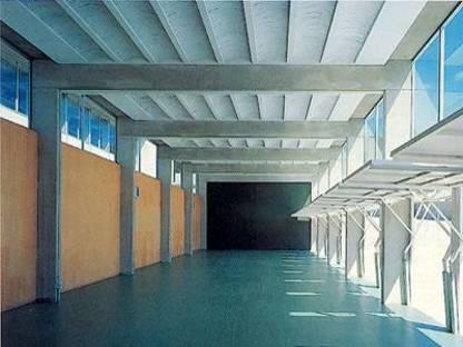 Ferrater & Guibernau: école professionnelle à Lloret de Mar, Espagne, 1993-1996